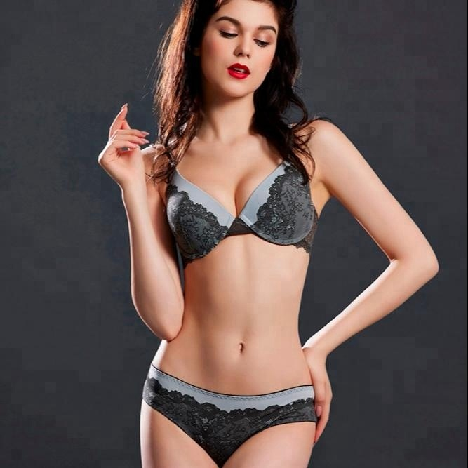 21ab726eb1 New design fashionable breathable sexy bra and panty set