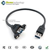 "OEM Waterproof USB USB 3.0 20-pin header to 3.5"" front panel USB cable"