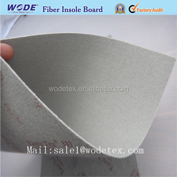 Shock absorbing padding Shoes material nonwoven fiber insole board