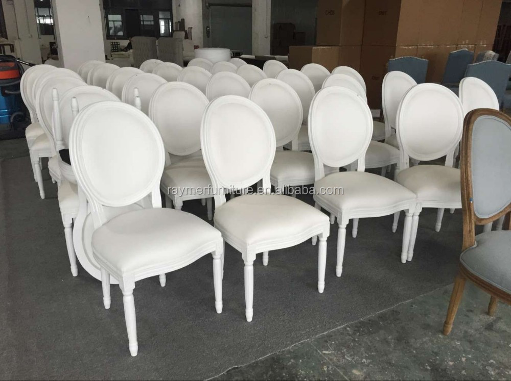 Round Back Leather White Wedding Chairs For Sale Buy