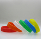 Factory directly print custom silicone bracelet / wristband / rubber band