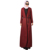 2018 Beautiful woolen maxi muslim long cardigan women winter coat long woolen coat full length cheap price