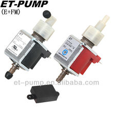 E+FM steam mop low flow high pressure ET micro electric solenoid piston water pump with FM board