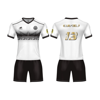 3bff8ba22 China cheap youth college soccer apparel sports jersey football kits custom  sublimation t shirts sublimation sportswear