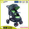 Adjustable portable four wheeled cart fors hopping mall baby stroller