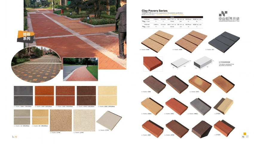 Light Weight Split Tiles Series Klinker Floor Tiles Buy Klinker - Clay coping tiles prices