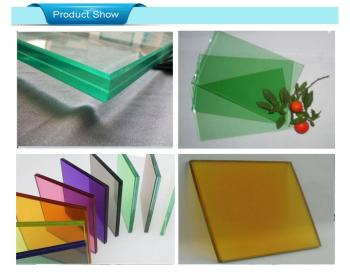 Good quality Laminated Glass widely used in bus station,bank,airport,hoteland showroom