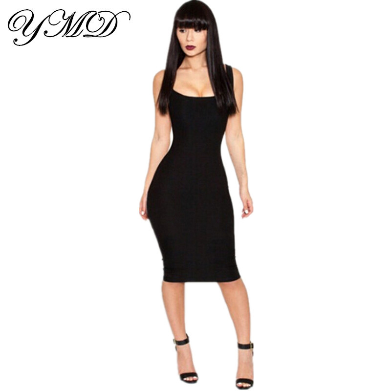 bandage bodycon dress cut out white and black party ...