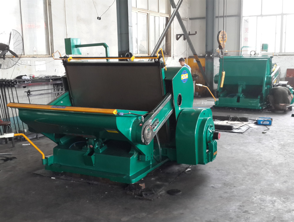 Die Cutting Machine Used For Corrugated Cardboard - Buy ...