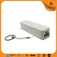 Yes and rechargeable for mobile use 2600mah mini mobile power bank