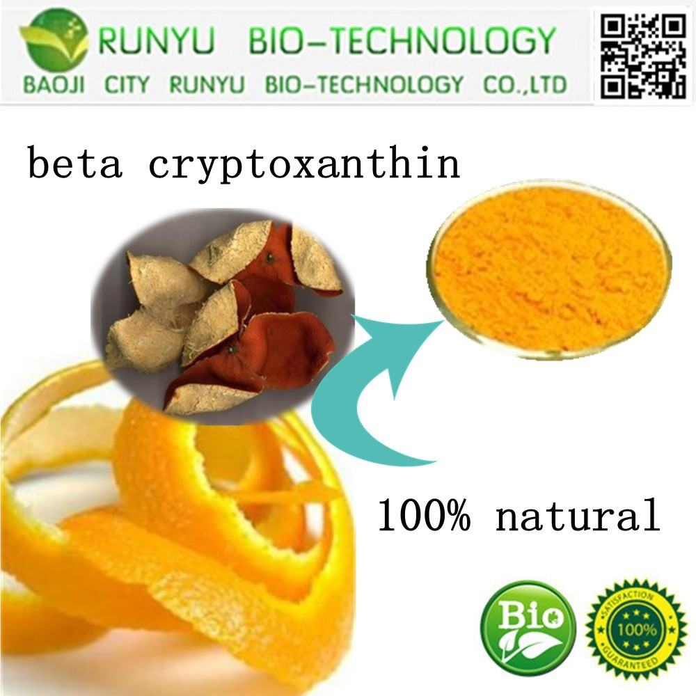 China Supplier Manufacture Beta Cryptoxanthin