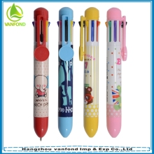 Small MOQ heat transfer printing product process multi-colour pen