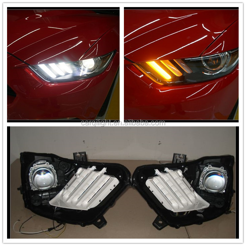 Wholesale 4pcs LED DRL For MUSTANG LED Daytime Running Light