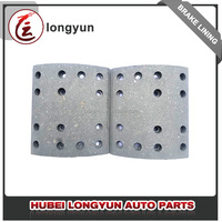 Auto parts brake liner,brake lining adhesive for Korea heavy truck