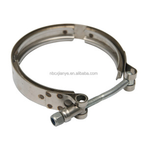 Stainless Steel Quick Release Exhaust V Band Spring Hose Clamp