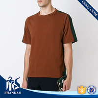 Guangzhou Shandao good quality blank O-neck 140g 100% Cotton short sleeve red rock of the t shirts thailand
