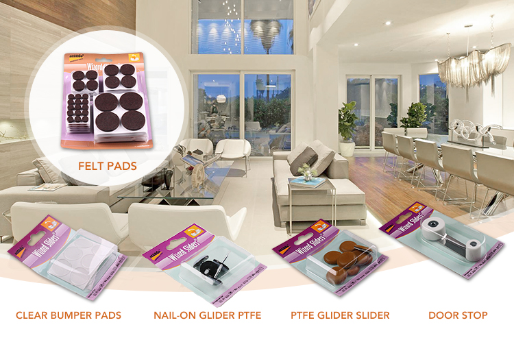 Clear Silicone Bumper Pads For Furniture Protector