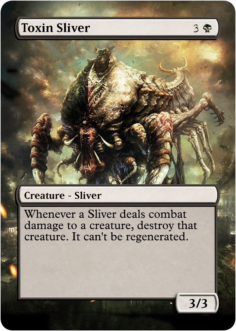 Buy Brood Sliver - Edh Casual Play Only - Art Foil - Non