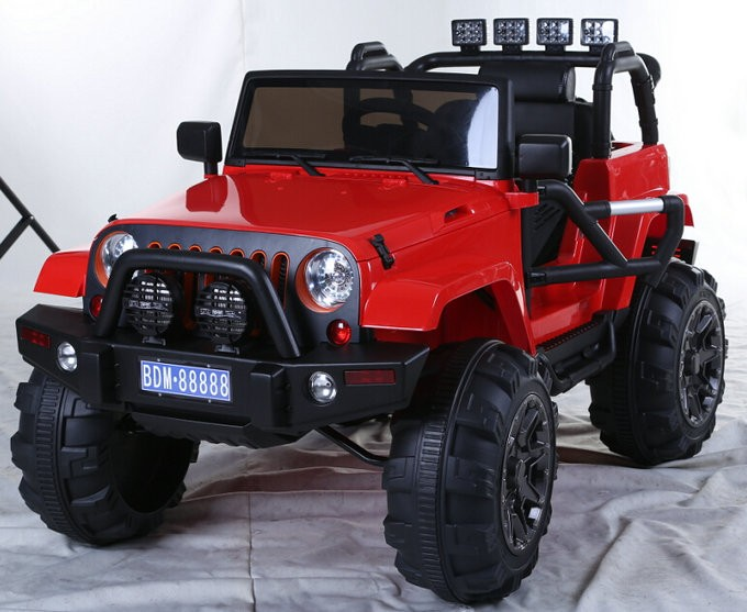 12v Mp3 Kids Raptor Jeep Wrangler Truck Rc Ride On Car With Double