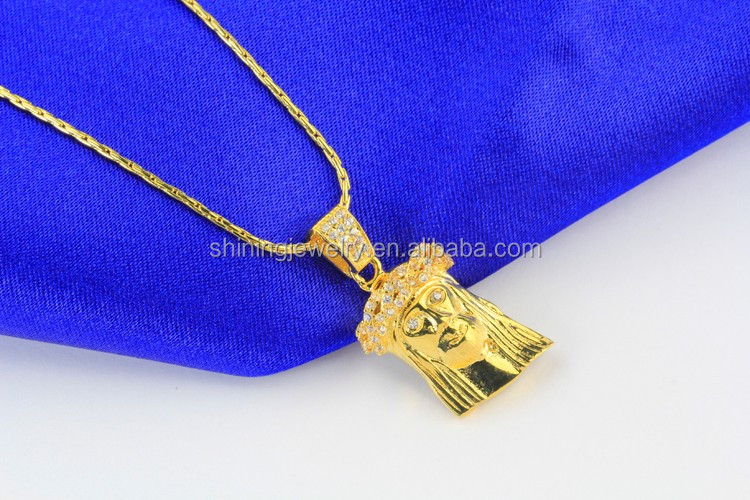 Gold plated lab diamond micro hip hop iced out mini jesus piece gold plated lab diamond micro hip hop iced out mini jesus piece aloadofball Image collections