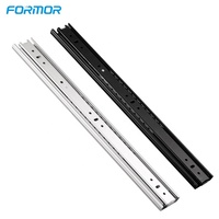 china manufacturer taiming telescopic channel drawer slide for cabinet