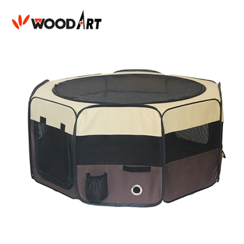 Foldable 8 Panels Portable Pet Playpen Dog Camping Tent With Carry Bag for indoor&outdoor