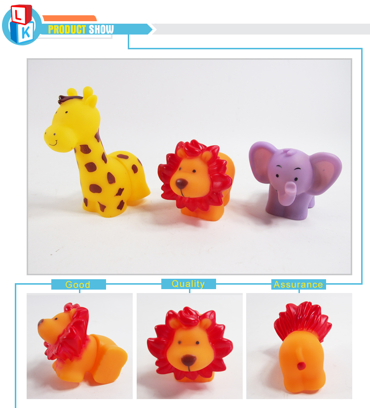 most popular animal play plastic rubber baby soft blocks for early learning