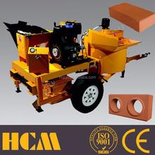 M7mi auto diesel interlocks brick making machine no need pallet