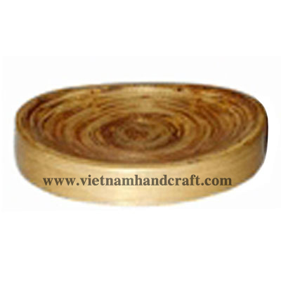 Best quality eco-friendly traditionally handmade Vietnamese natural spun bamboo soap dishes