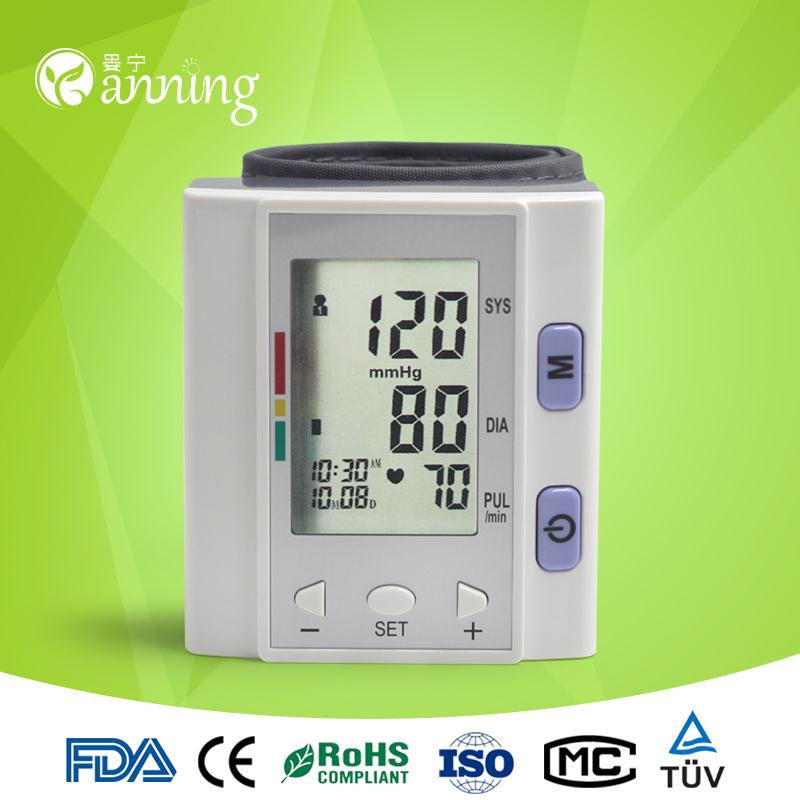 Plastic household digital blood pressure monitor,automatic electronic sphygmomanometer,blood pressure gauge
