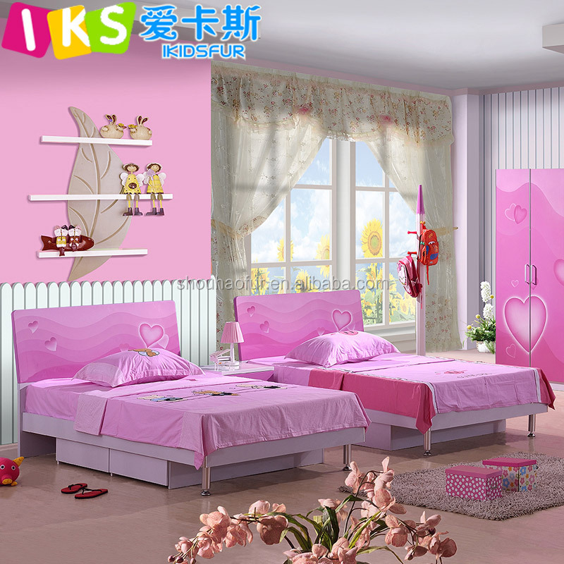 2015 mdf nuevo dise o princesa cama doble barato ni as - Cama princesa nina ...