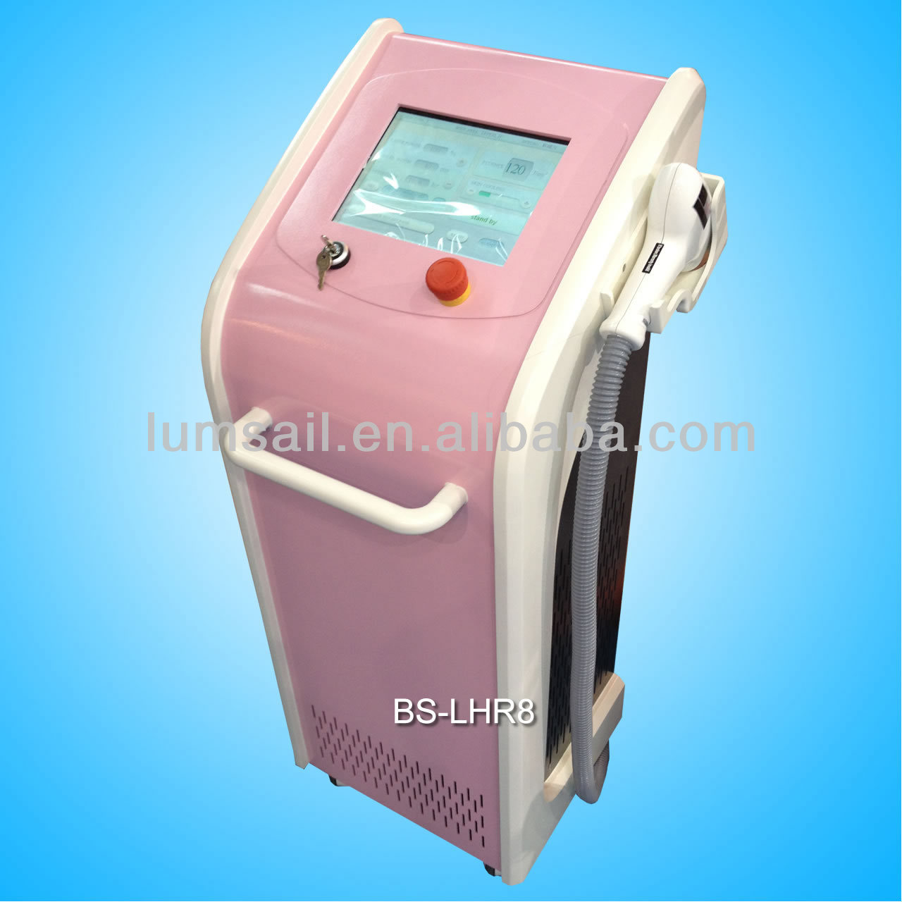 Big spot size 808nm hair removal equipment for spa