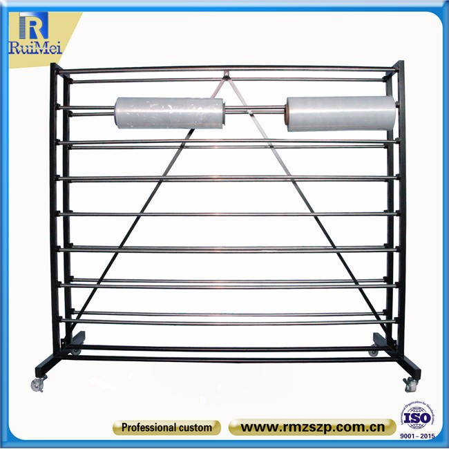 Metalen stand online retail store china bestseller tapijt display