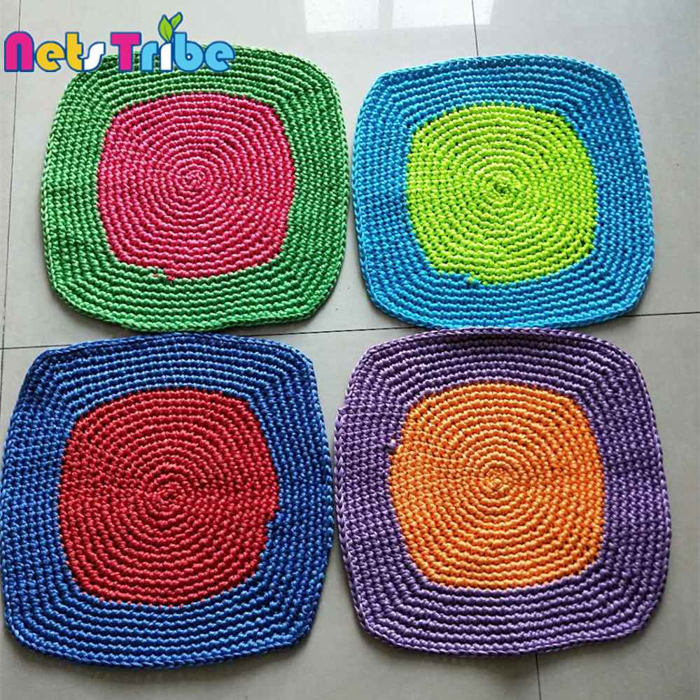 Kids delicate climbing nets parts swing cushion amusement indoor playground