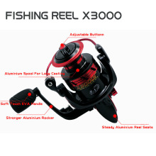 Wholesale X3000 Spinning Wheel Fishing Reel Hand Reel Casting Fishing Lure Fishing Line Tackle Tools