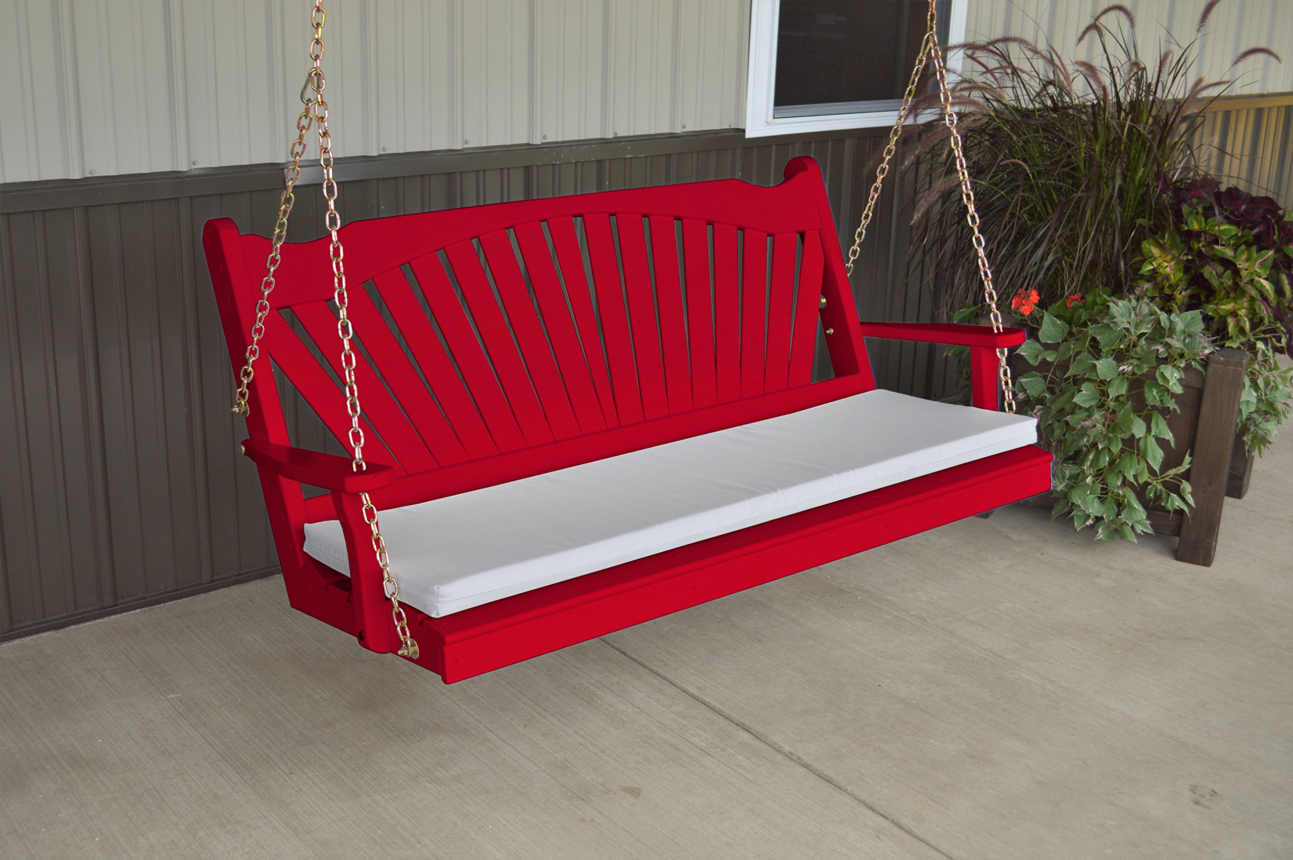 BEST PORCH SWING, 5u0027 Fanback Designer Patio U0026 Porch Swings For Those Who  Love