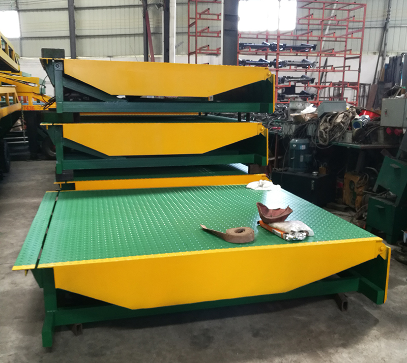 Fixed Hydraulic Container Load Dock Ramp Electric Leveler Lift 8 ton 10ton 12 ton