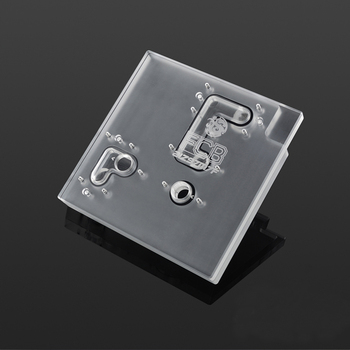 CNC Milled Acrylic Part Acrylic Block TOP Cover for ASUS MAXIMUS VII FORMULA