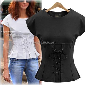 Plus size sexy blouses