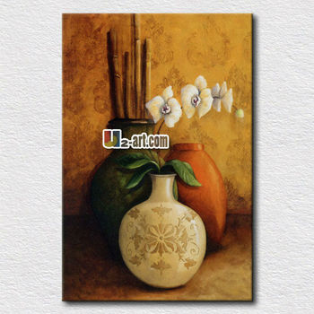 Beautiful Classical Still Life Flower Vase Oil Painting Buy Vases