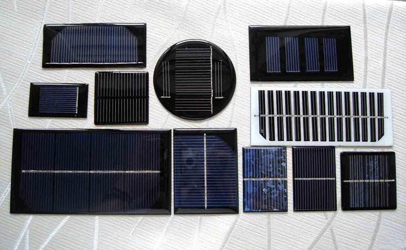 Round Mini Solar Panel Small Monocrstalline Solar Cell Pv