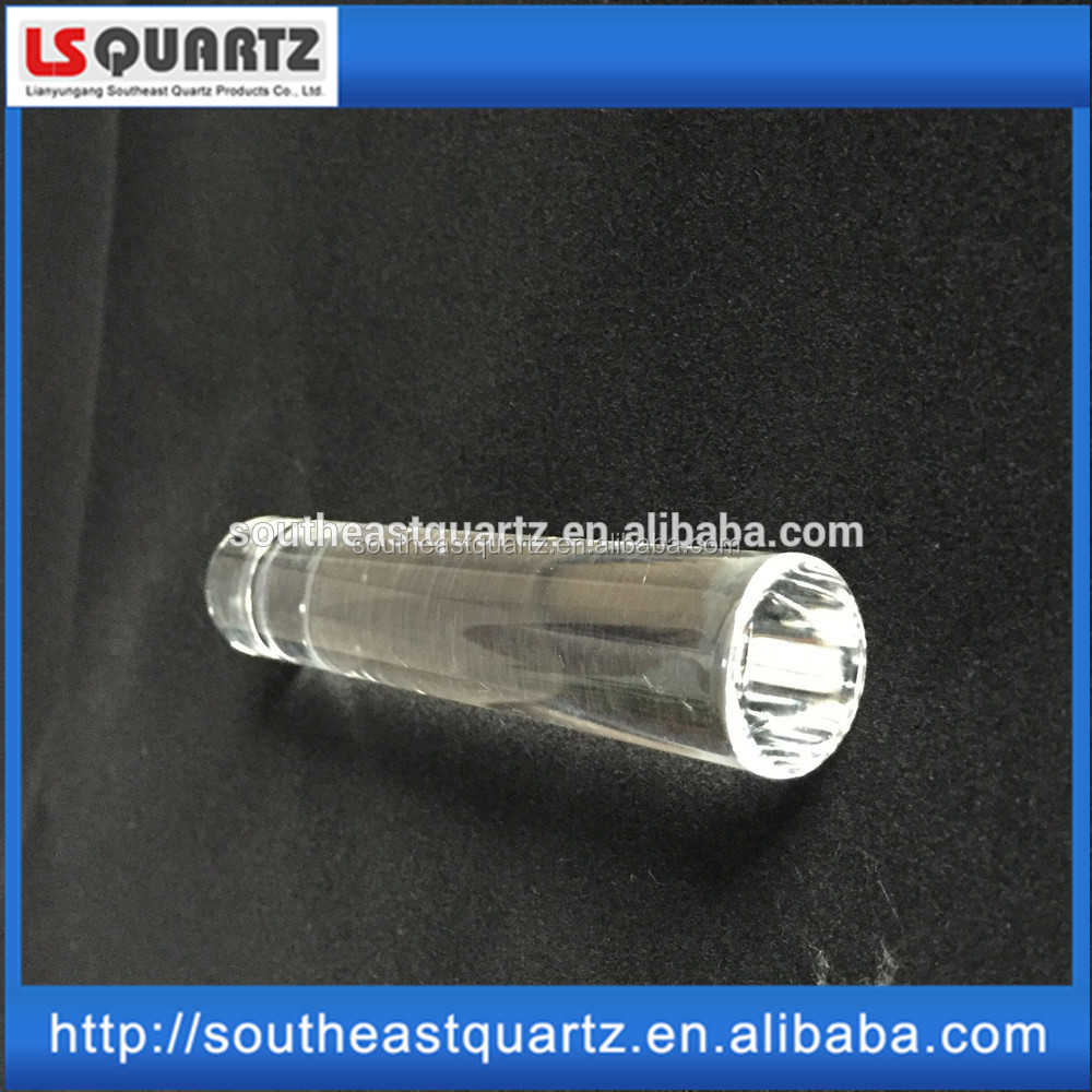 GE214 Transparent solid quartz glass rod for semiconductor