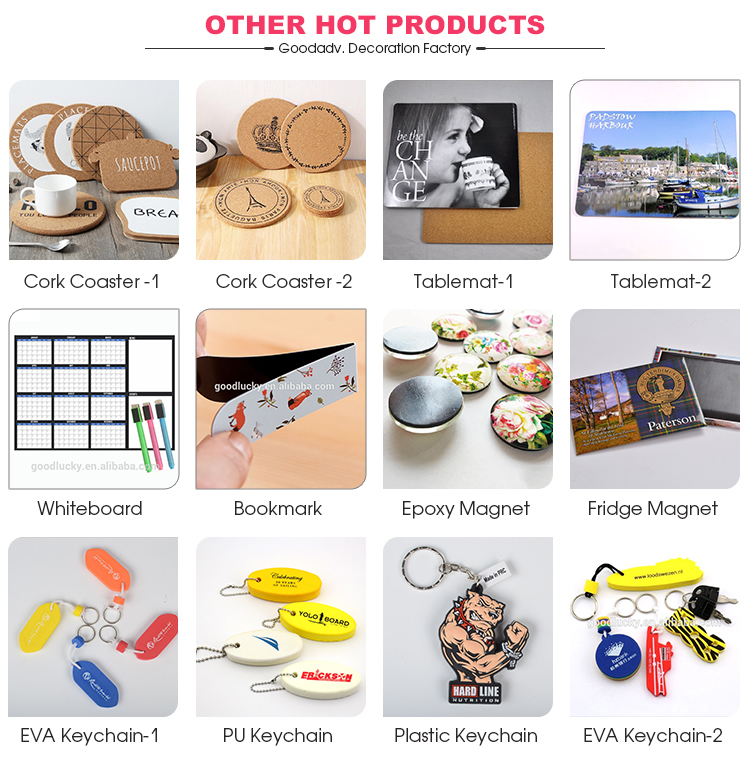 Custom Design Print Sublimation Personalised Photo Epoxy Fridge Magnet