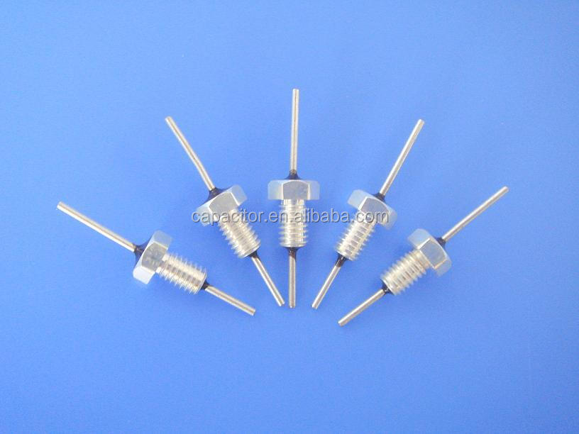 Single Pin Threading Bushing Feed Through Capacitor Buy