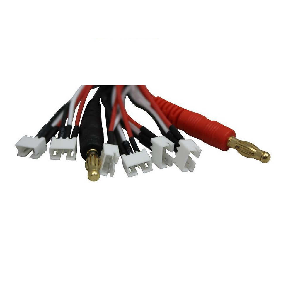 HTB18ehlldqUQKJjSZFIq6AOkFXaF parallel charge cable (1 6 cells) for 130x,mcpx bl,umx beast,sbach Blade mCPX V2 at bayanpartner.co