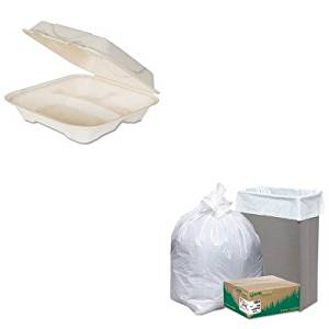 KITECOEPHC93WBIRNW1K150V - Value Kit - ECO-PRODUCTS,INC. Hot Food Container (ECOEPHC93) and EarthSense Recycled Tall Kitchen Bags (WBIRNW1K150V)