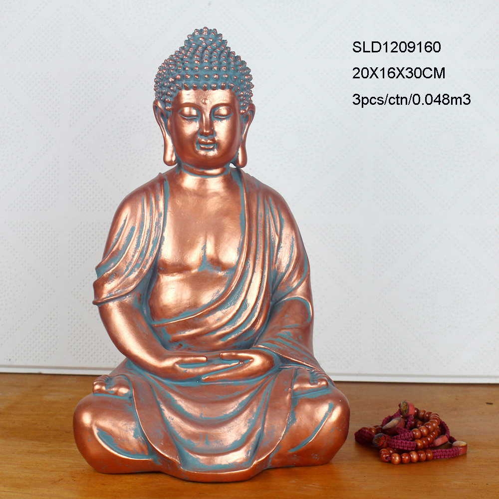 Handicraft home decoration indoor resin buddha for sale