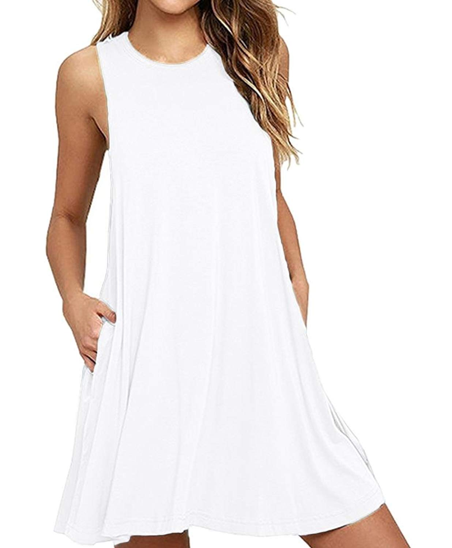 1f63804921 Get Quotations · Cami-sunny Beach Wear Summer Beach Dresses for Women Tank  Top Bikini Swimwear Cover up