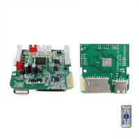 Jlh Video Mp4 Mp5 Fm Circuit Radio Decoder Usb Module, Movie Video Fm Player Usb Board