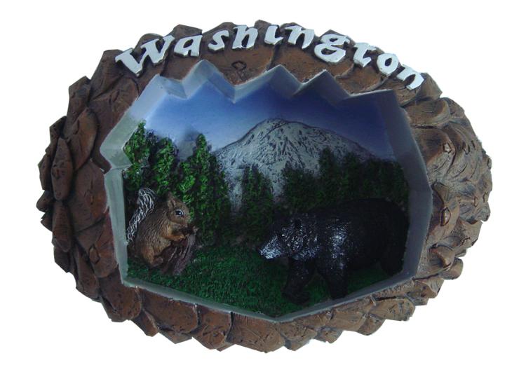 Customize Japan 3D Refridge Magnet Tourist Souvenir